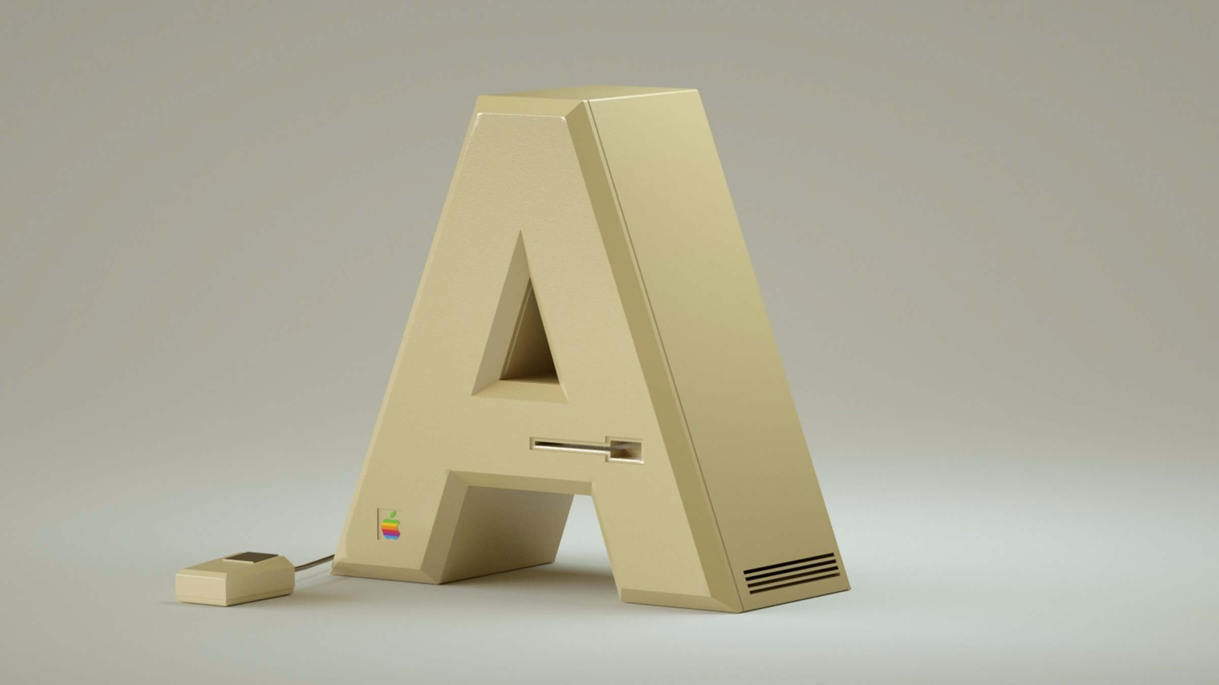 alphabet rendered vintage electronic gadgets 1 (1)