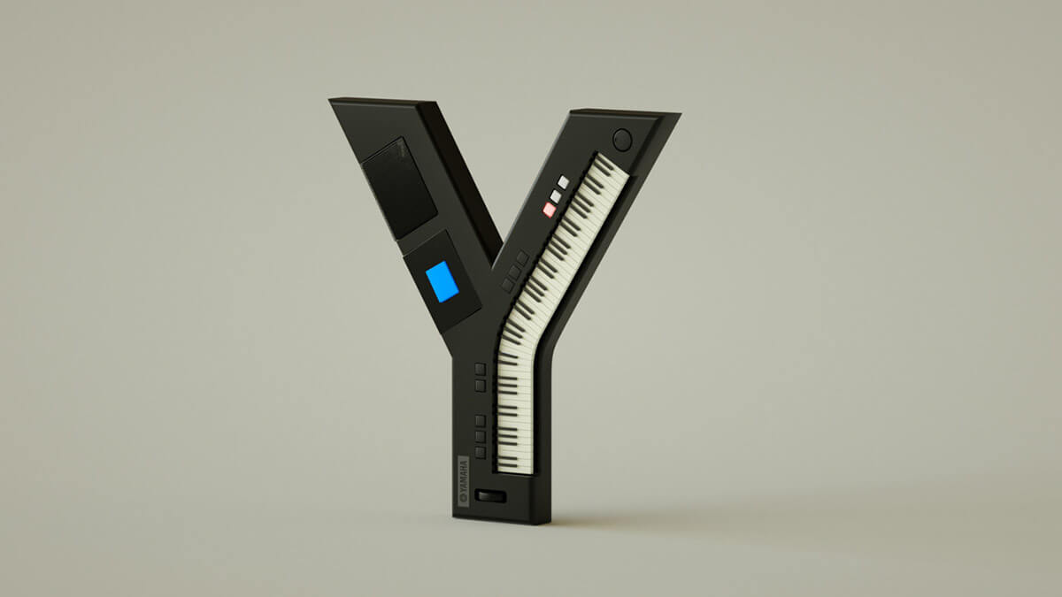 alphabet rendered vintage electronic gadgets 35 (1)