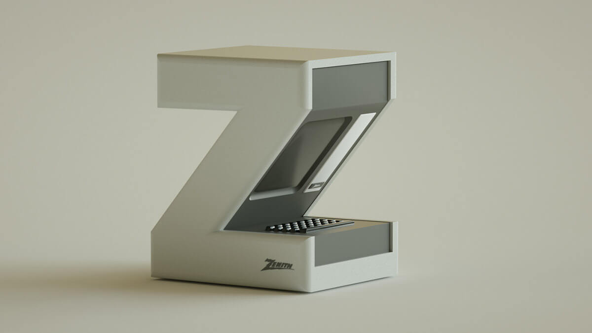 alphabet rendered vintage electronic gadgets 36 (1)