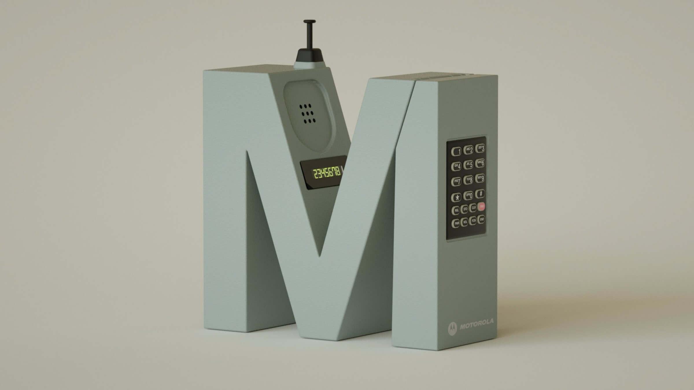 alphabet rendered vintage electronic gadgets 4 (1)