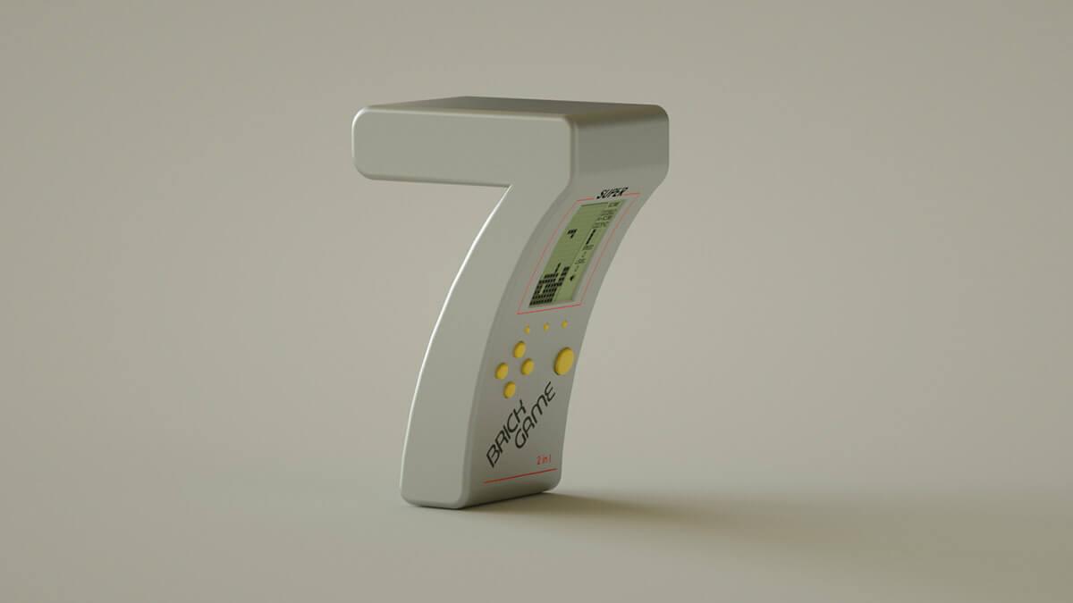 alphabet rendered vintage electronic gadgets 41 (1)
