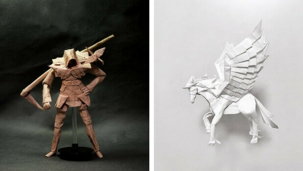 31 Amazing Origami Art Pieces That Are So Complex You Need Instructions Just To Look At Them