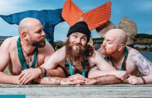 bearded men mermaid calander feat (1)