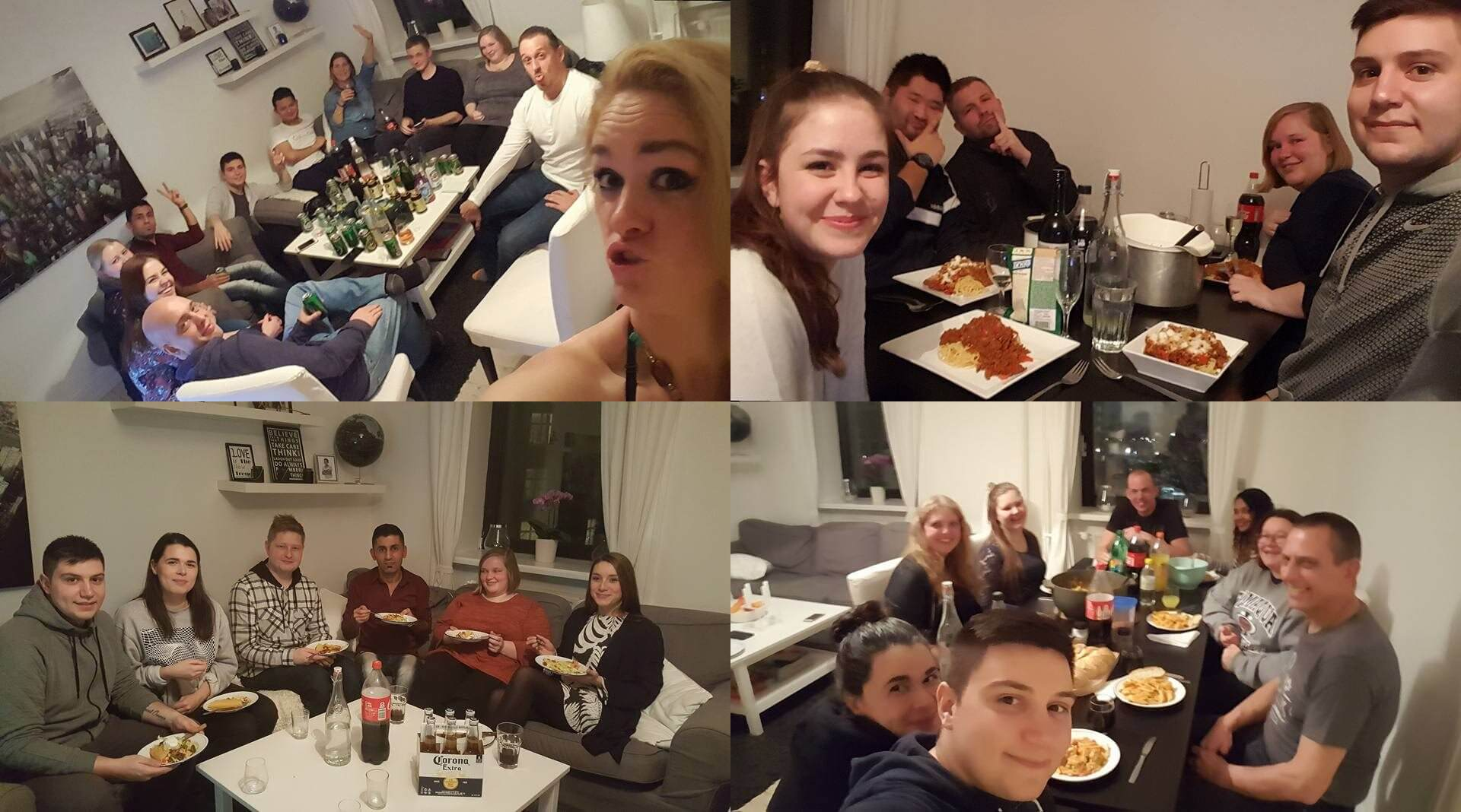 guy invites 100 strangers to his flat 2 (1)