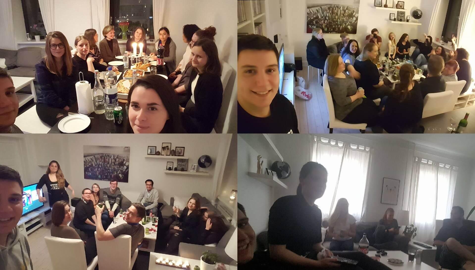 guy invites 100 strangers to his flat 4 (1)