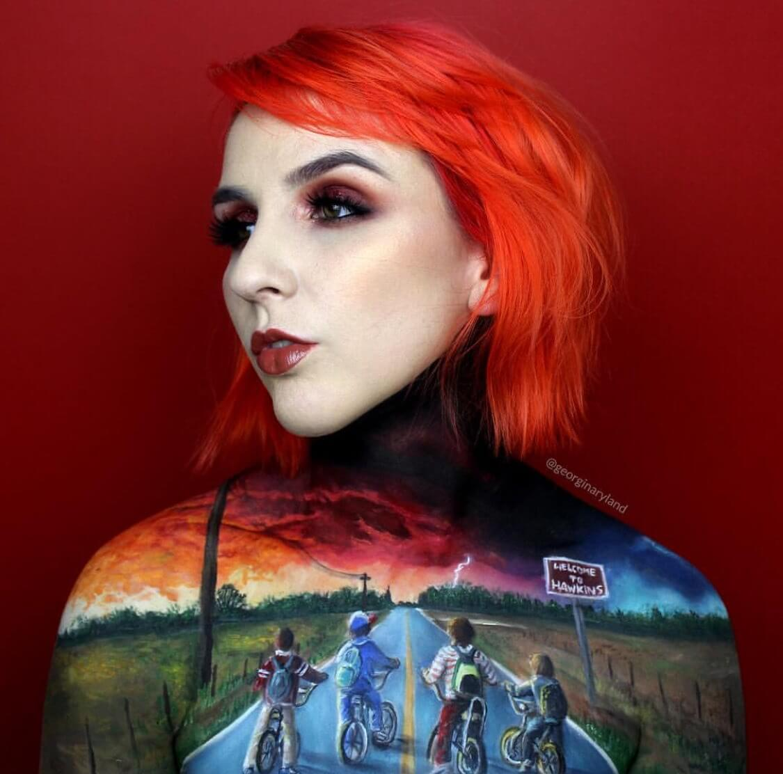 Georgina Ryland body paintings 1 (1)