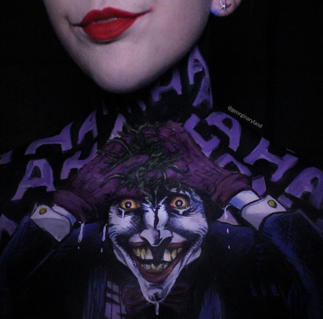 Georgina Ryland body paintings 4 (1)