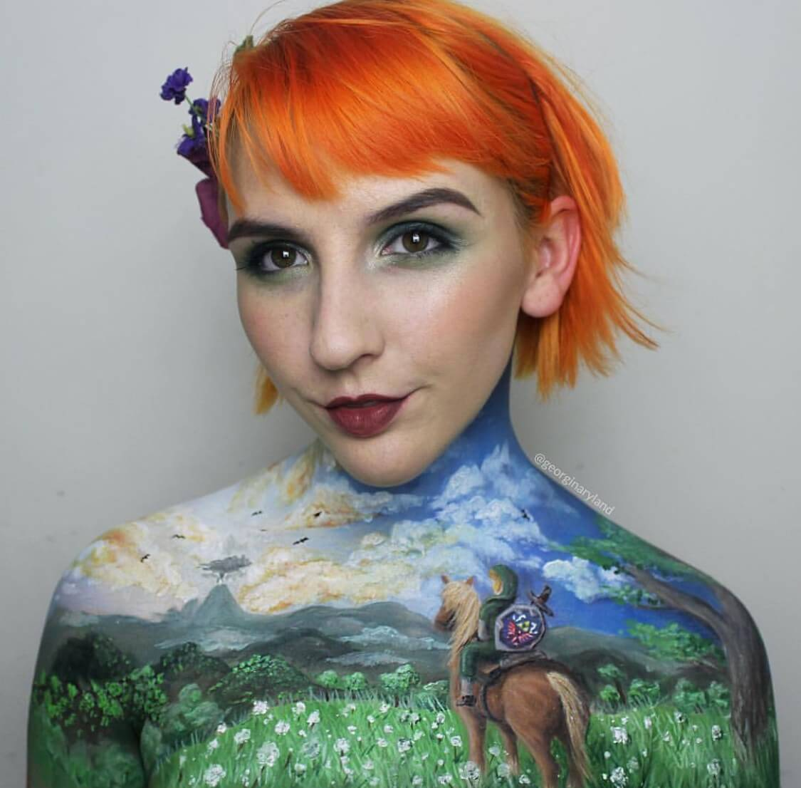 Georgina Ryland body paintings 6 (1)