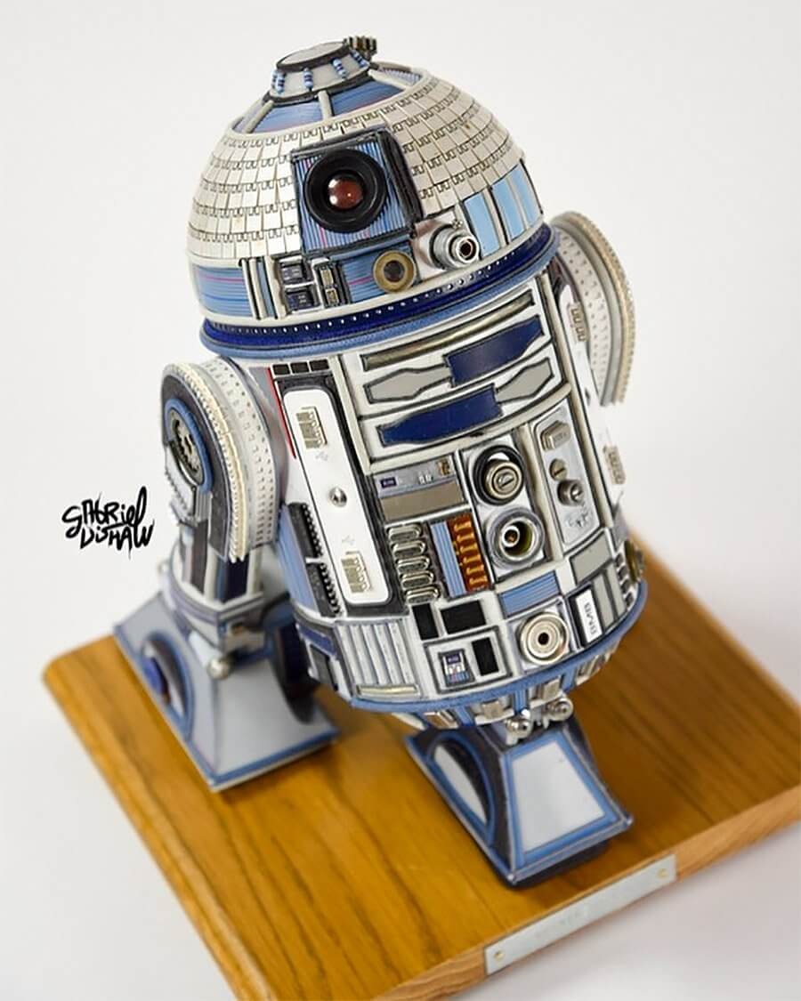 Star Wars Sculptures by Gabriel Dishaw 10 (1)