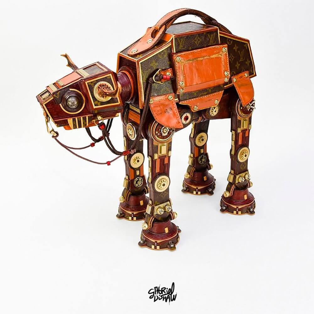 Star Wars Sculptures by Gabriel Dishaw 4 (1)