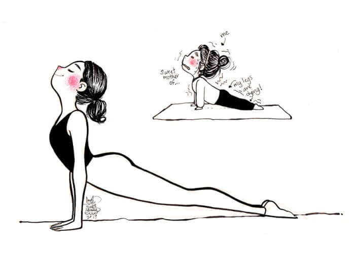 Yoga thoughts Vs Reality 7 (1)