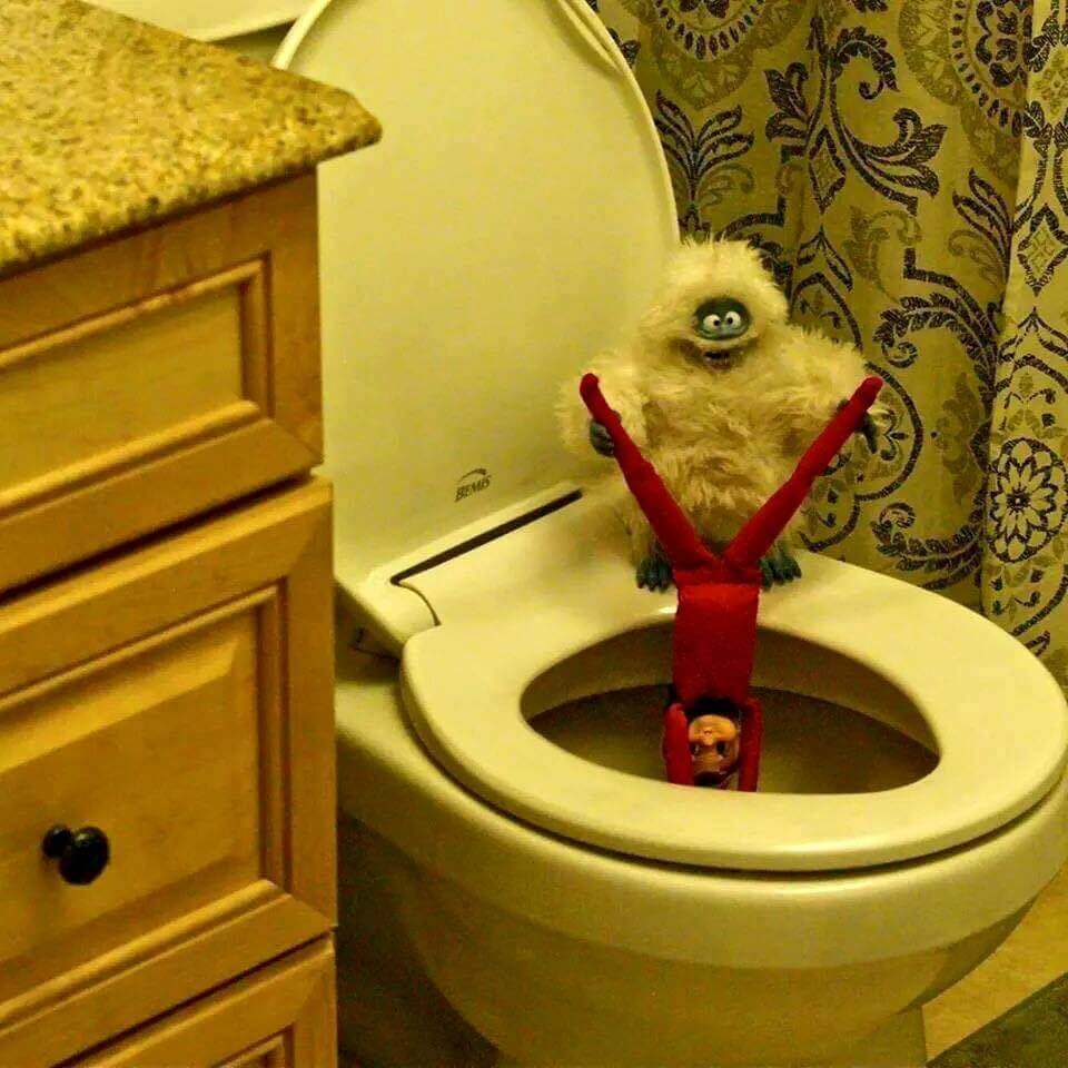 24 Bad Elf On The Shelf Pictures Proving Dads Everywhere