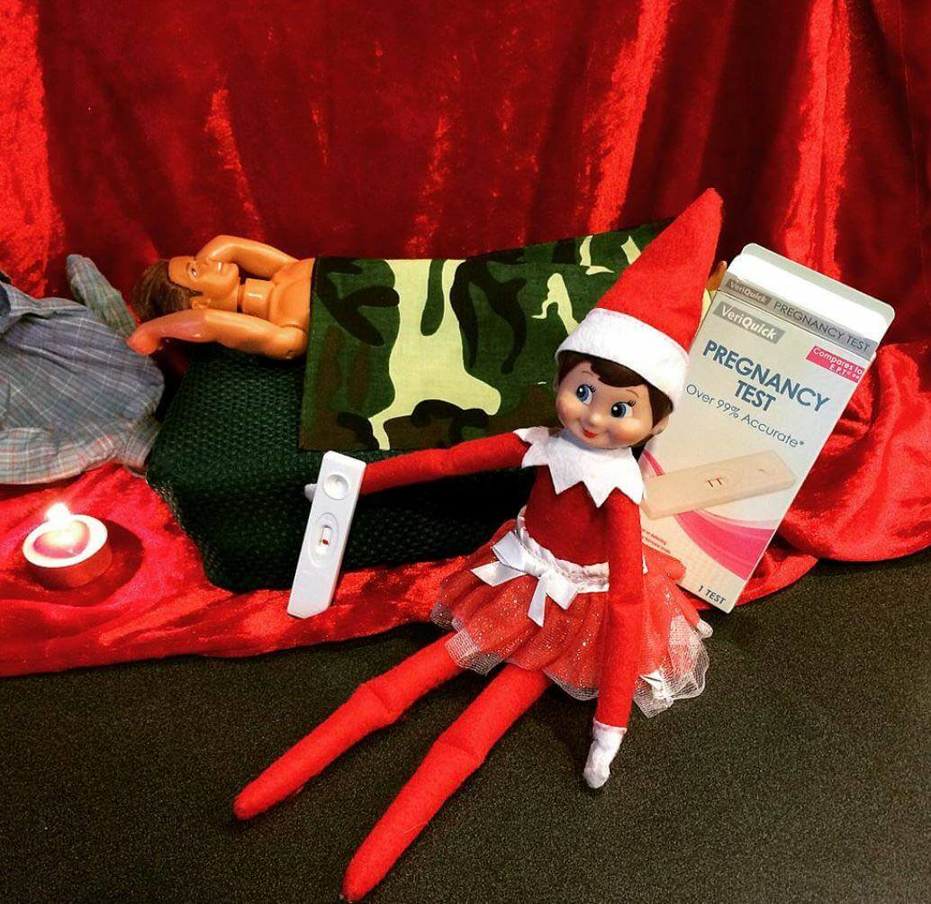 24 Bad Elf On The Shelf Pictures Proving Dads Everywhere Shouldn T Be In Charge Of The Elfs