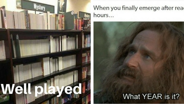 book lover memes feat 1 620x350 41 book lover memes only people who love books more than people