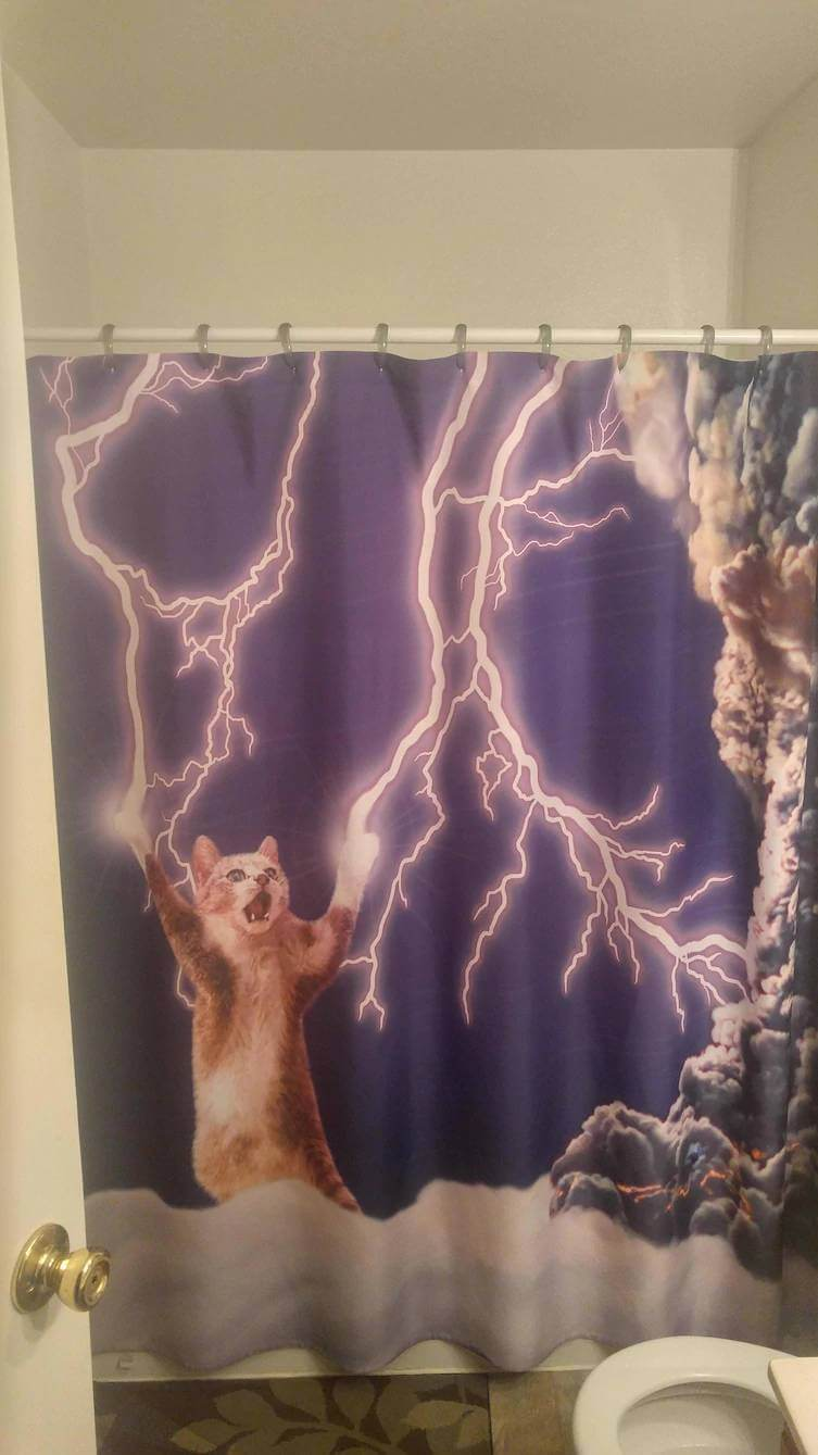 31 funny shower curtains that are so good they should be