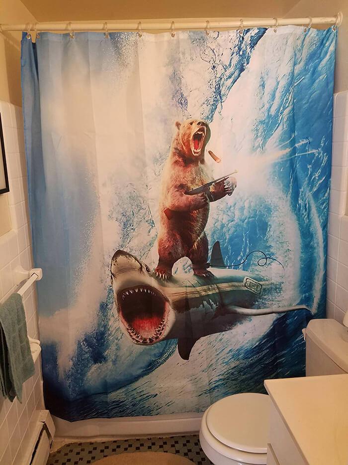 funny bathroom curtains 6 (1)