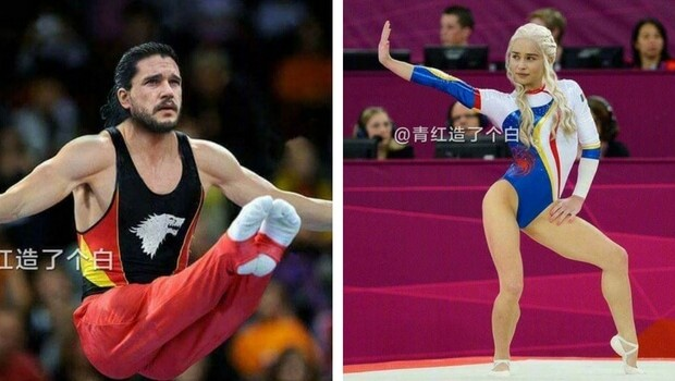 if game of thrones characters were in the olympics feat (1)