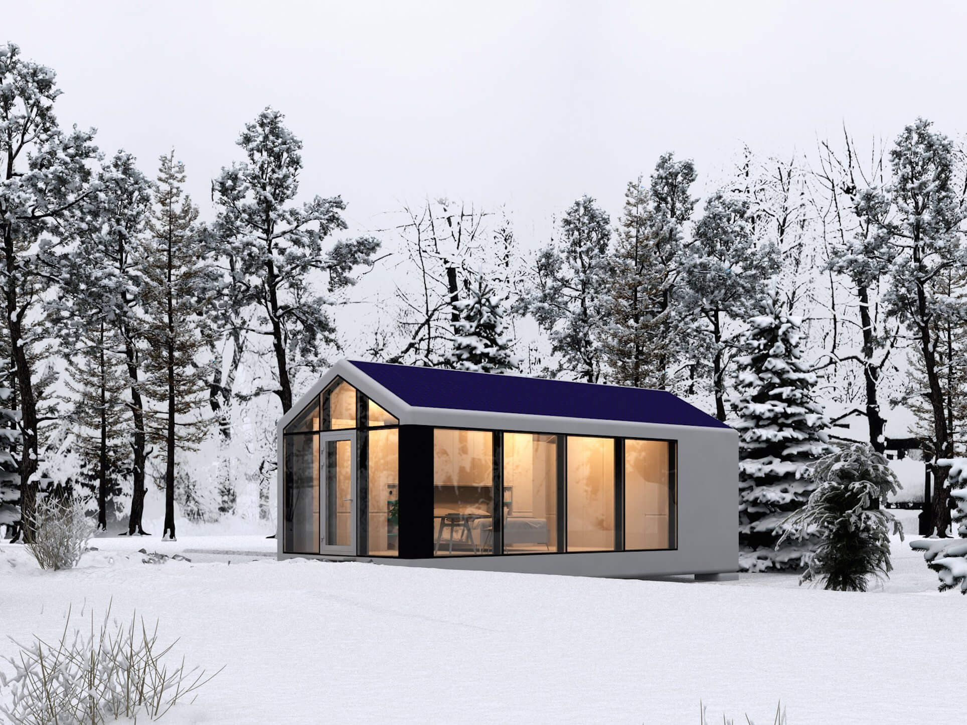 Take a Look Inside This Autonomous Home That Can Be 3D