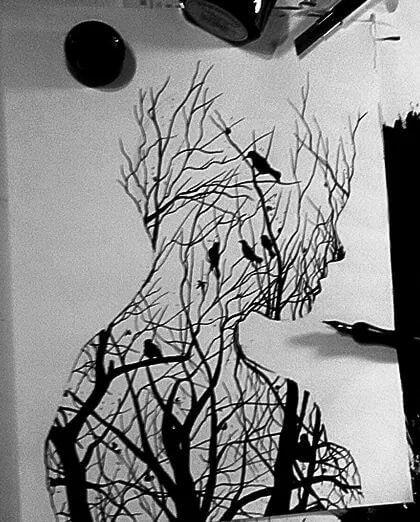 pencil sketch of nature 15 (1)