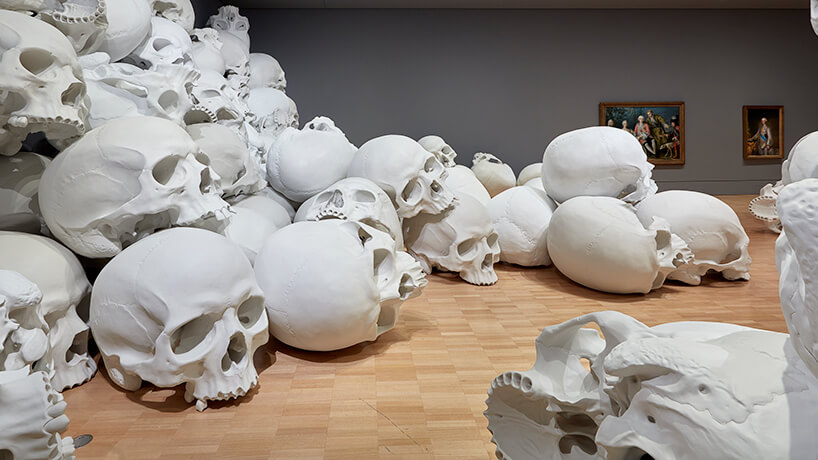 ron mueck huge skulls 10 (1)