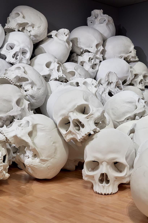 ron mueck huge skulls 5 (1)
