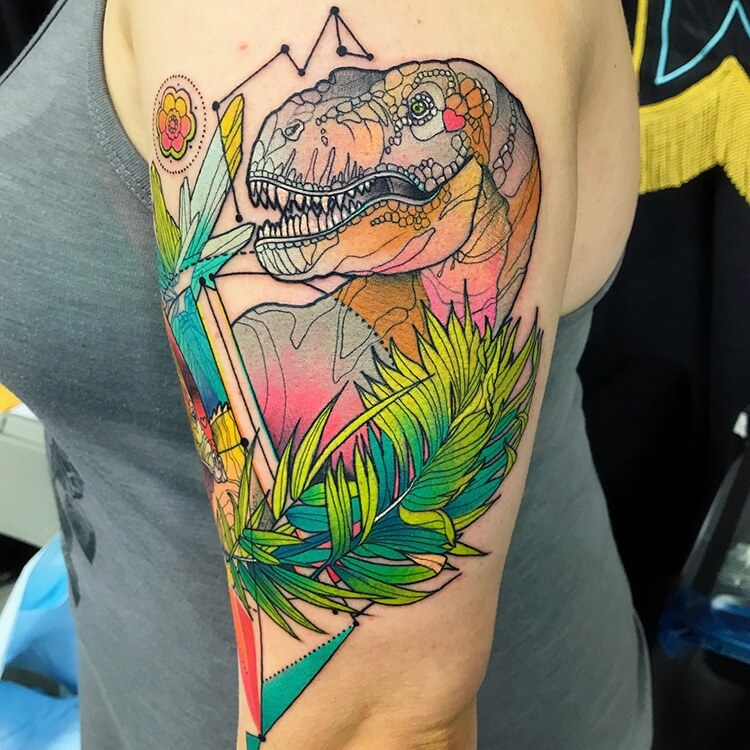 colorful animal tattoos 14 (1)