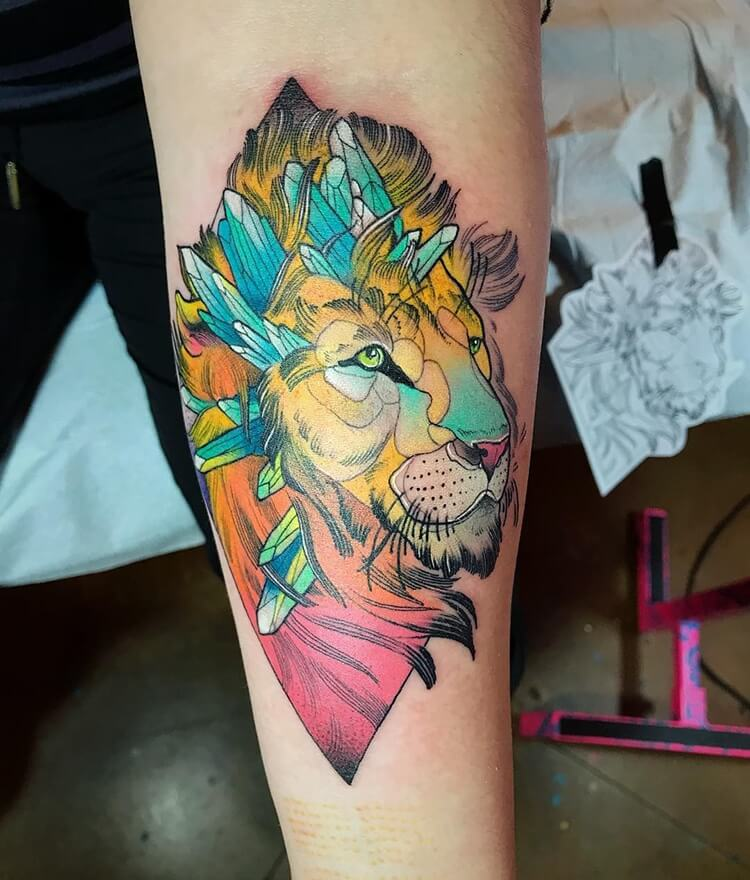 colorful animal tattoos 16 (1)