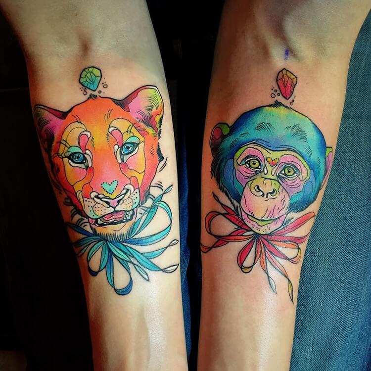 vibrant animal tattoos 2 (1)