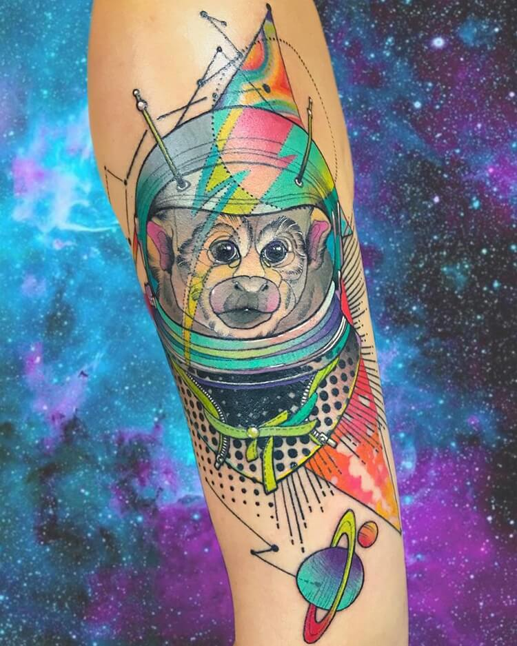 vibrant geometric tattoos 9 (1)