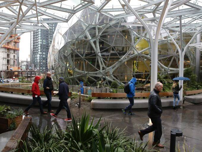 Amazon Spheres seattle 10 (1)