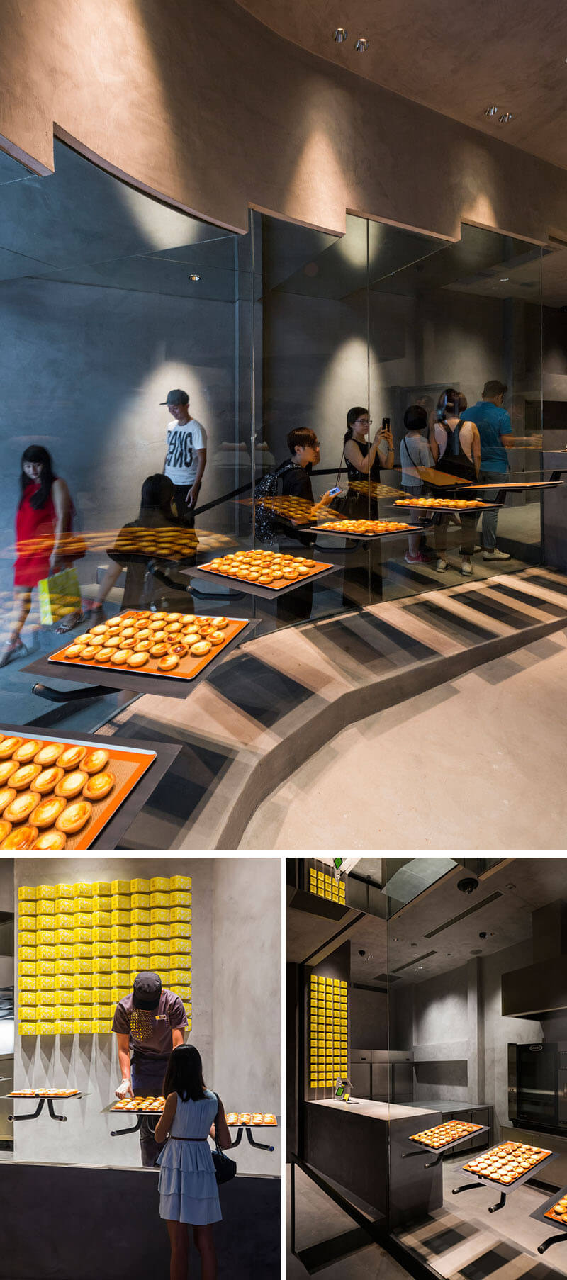 Cheese Tart Bakery In Vietnam bake 5 (1)