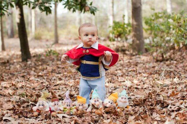 Adorable Disney Prince Themed Photo Shoot Of One Year Old