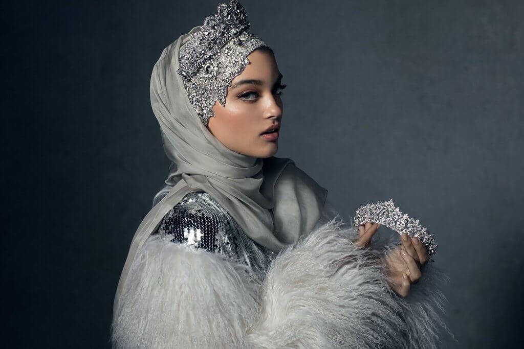 Melanie Elturk luxury hijab 1 (1)
