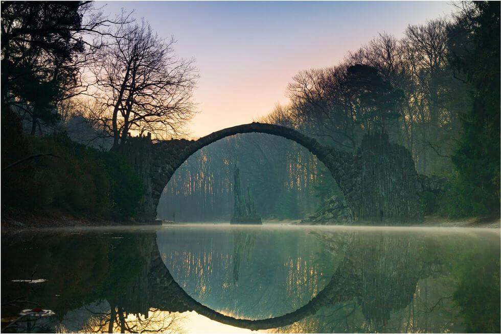 Rakotzbrücke Devil's Bridge 2 (1)