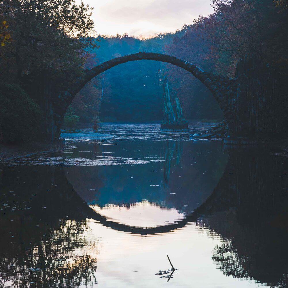 Rakotzbrücke Devil's Bridge 7 (1)