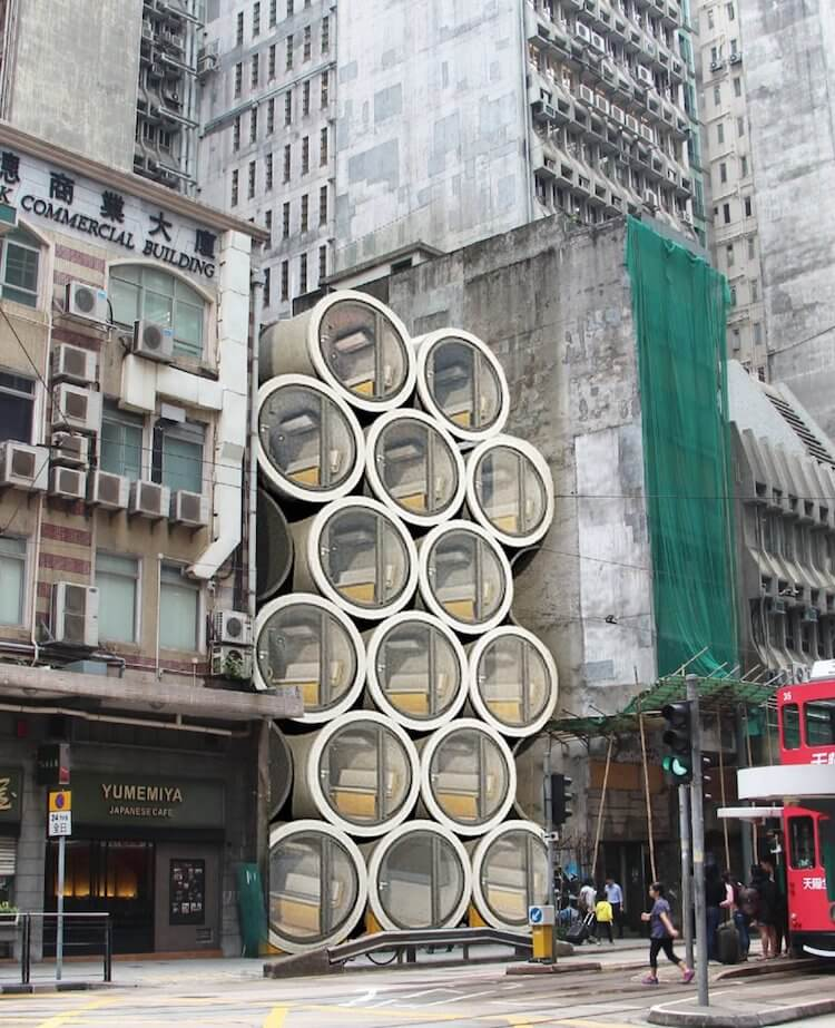 micro apartments from water tubes 1 (1)