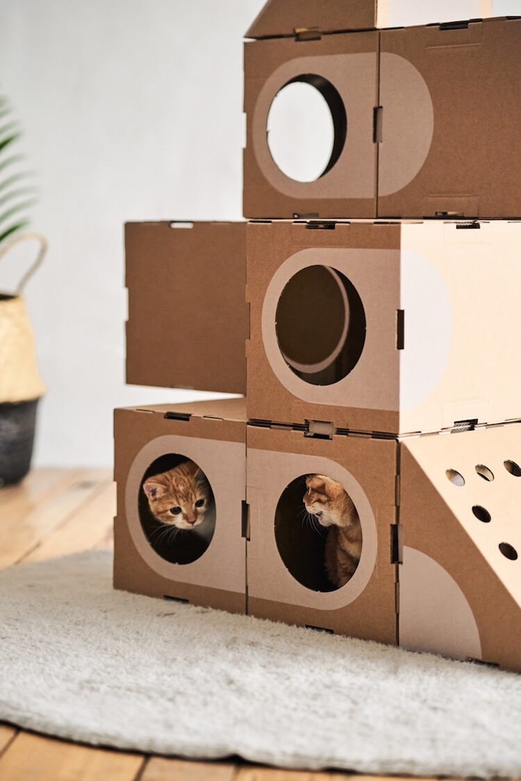 Cardboard Furniture for Cats 6 (1)