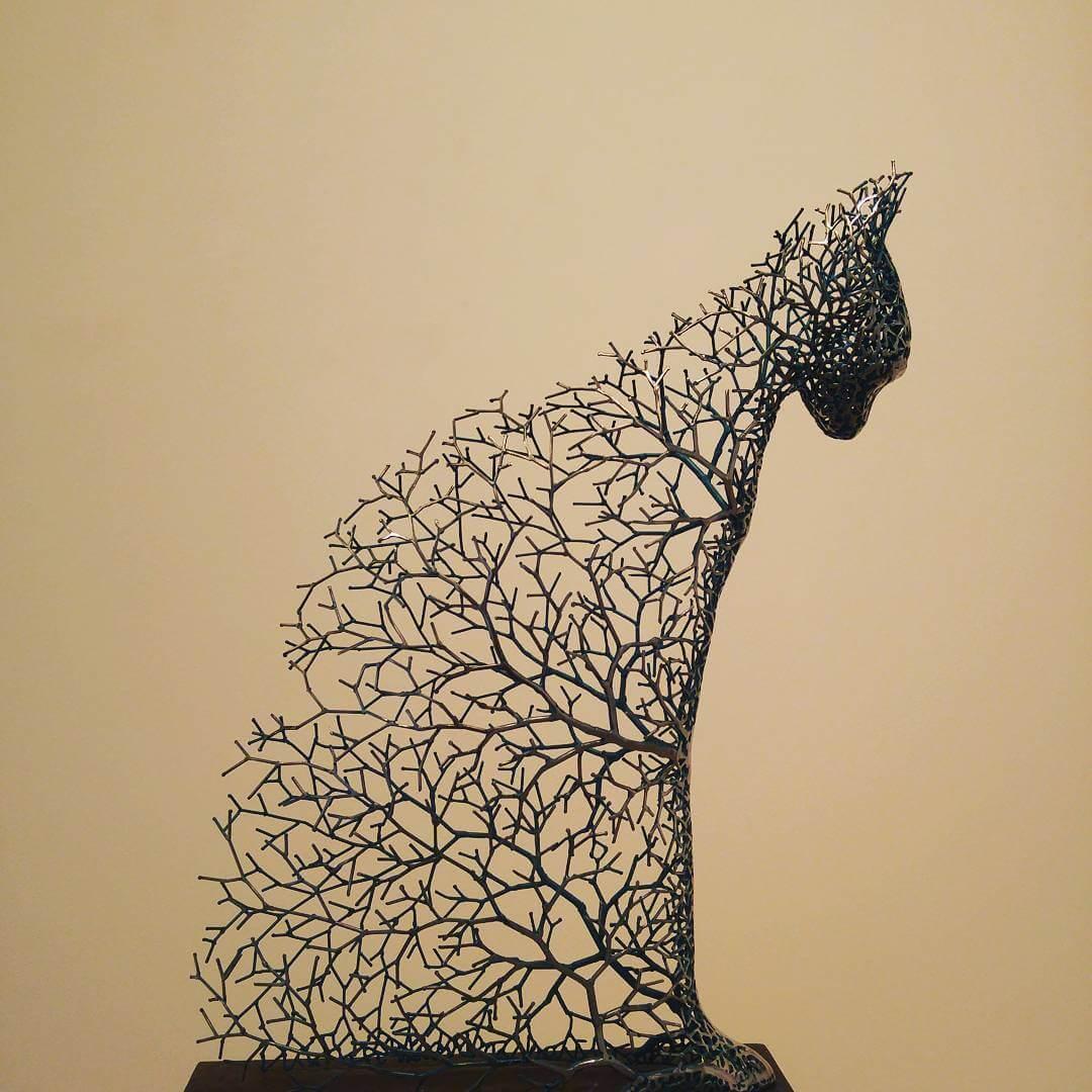 Kang Dong Hyun metal sculpture animals 1 (1)