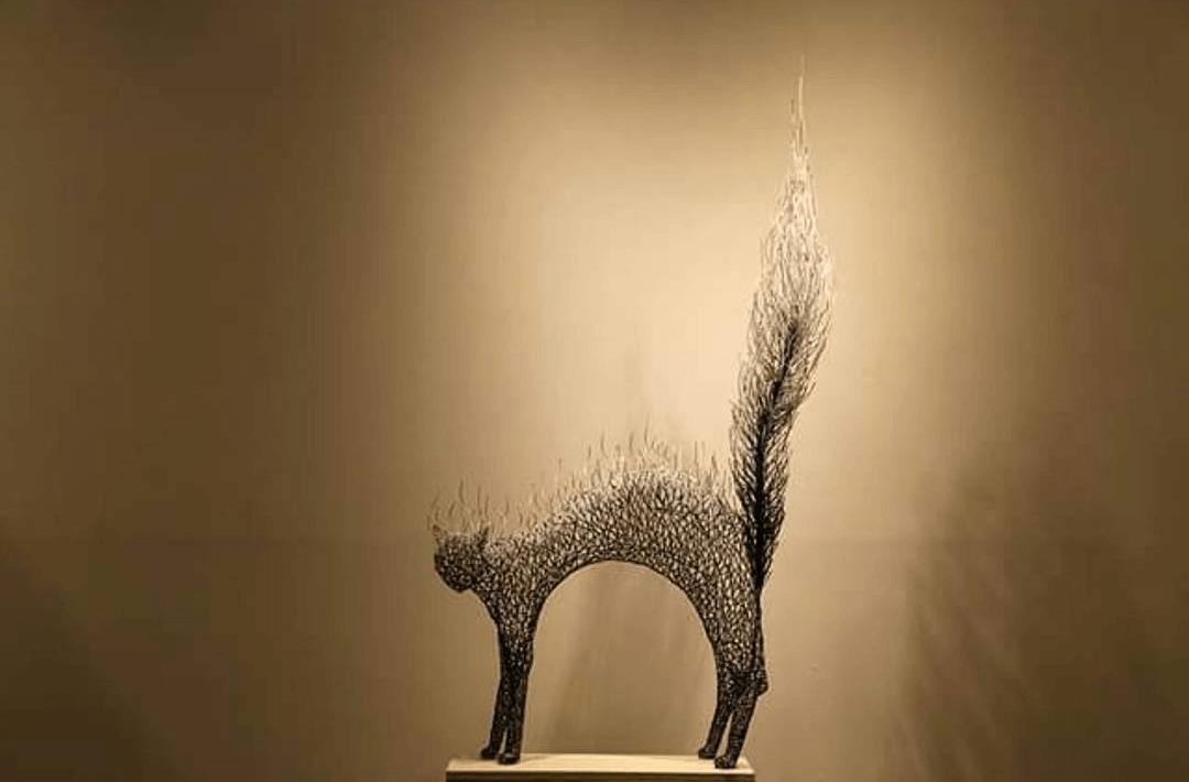 Kang Dong Hyun metal sculpture animals 10 (1)