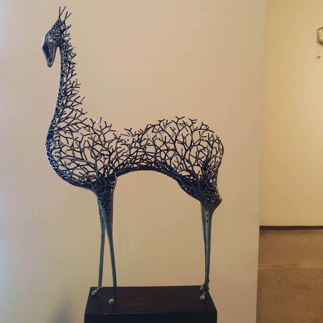 Kang Dong Hyun metal sculpture animals 11 (1)