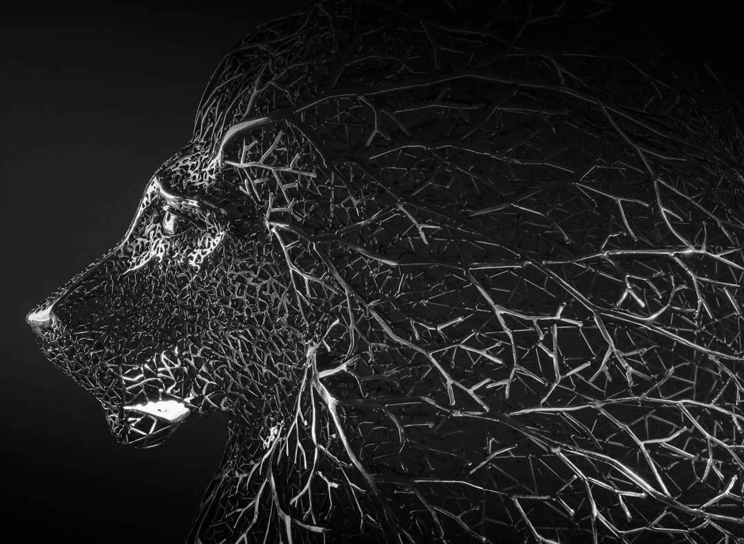 Kang Dong Hyun metal sculpture animals 2 (1)