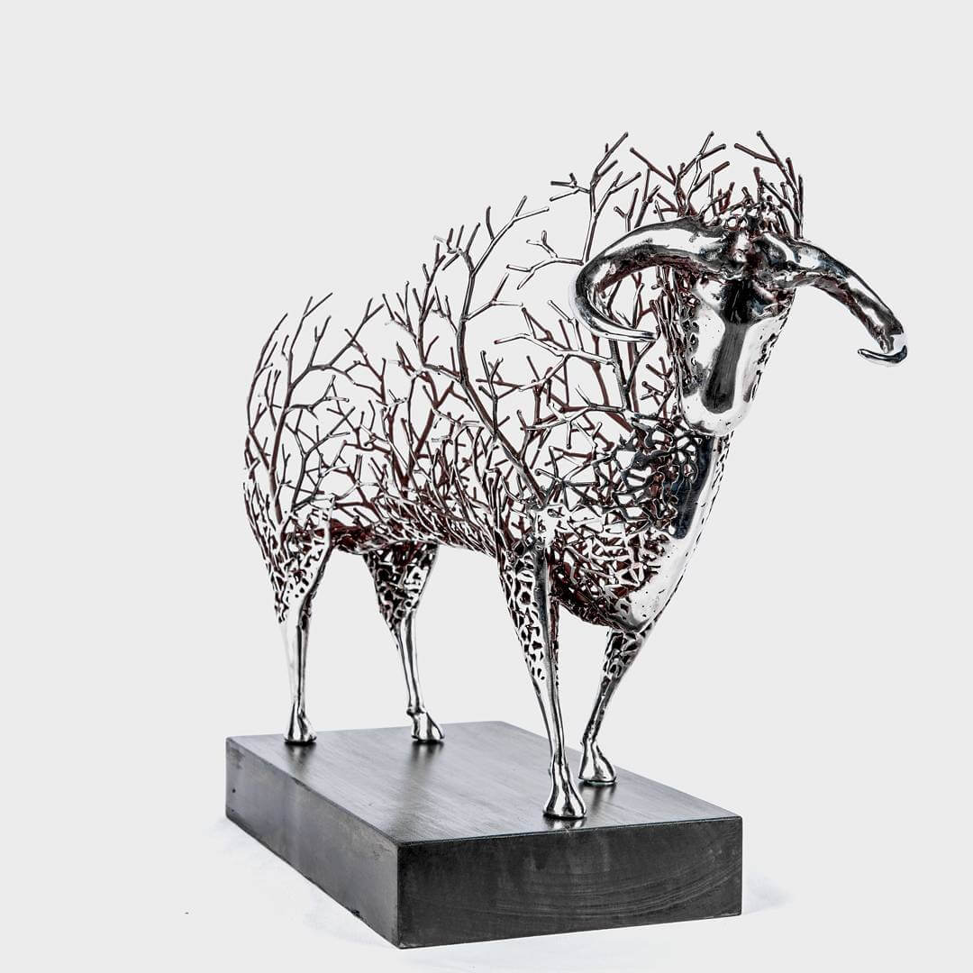 Kang Dong Hyun metal sculpture animals 4 (1)