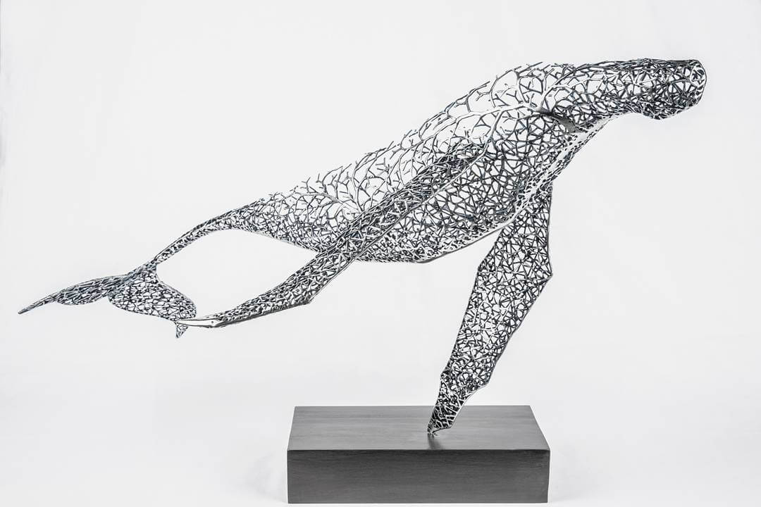 Kang Dong Hyun metal sculpture animals 7 (1)