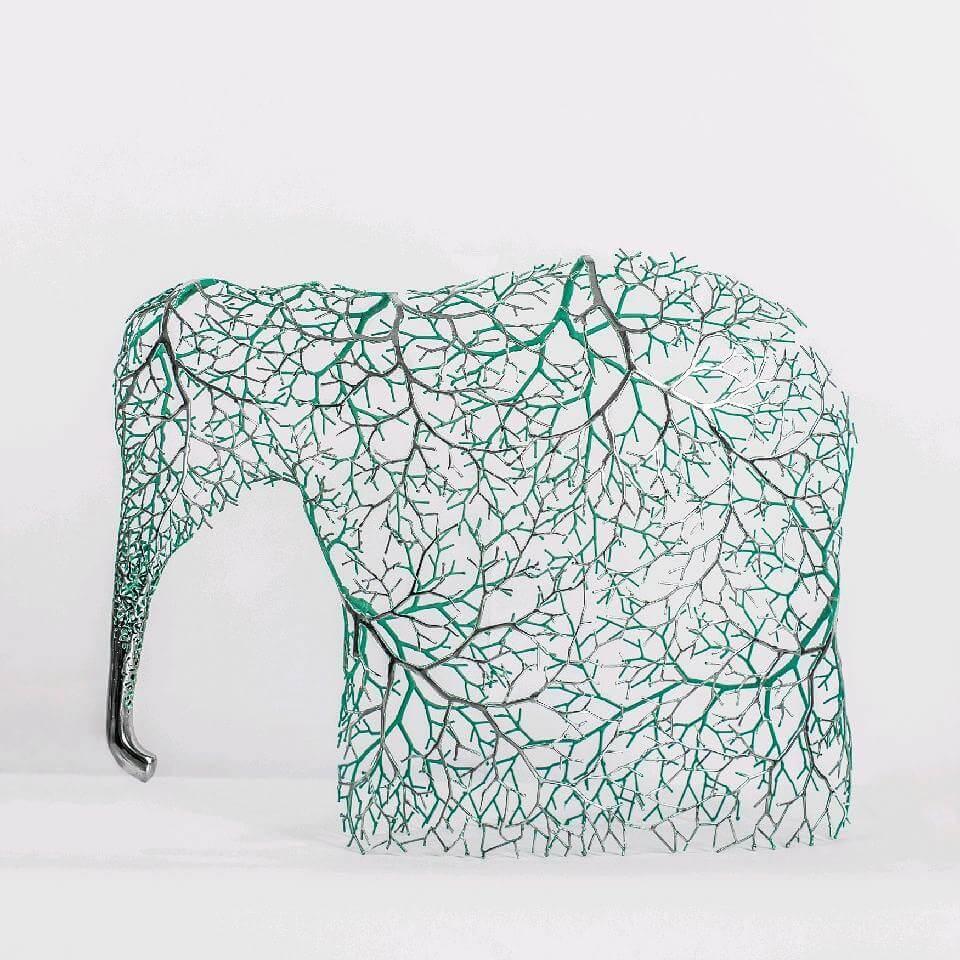Kang Dong Hyun metal sculpture animals 8 (1)