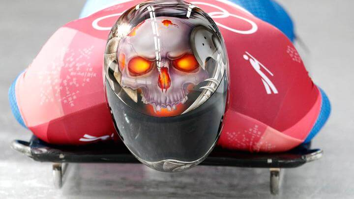 Olympic Skeleton athletes helmets art 2 (1)