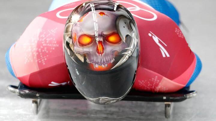Olympic Skeleton athletes helmets art 2 (1)