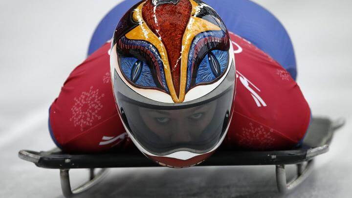 Olympic Skeleton athletes helmets art 6 (1)