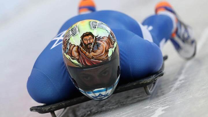 Olympic Skeleton athletes helmets art 7 (1)