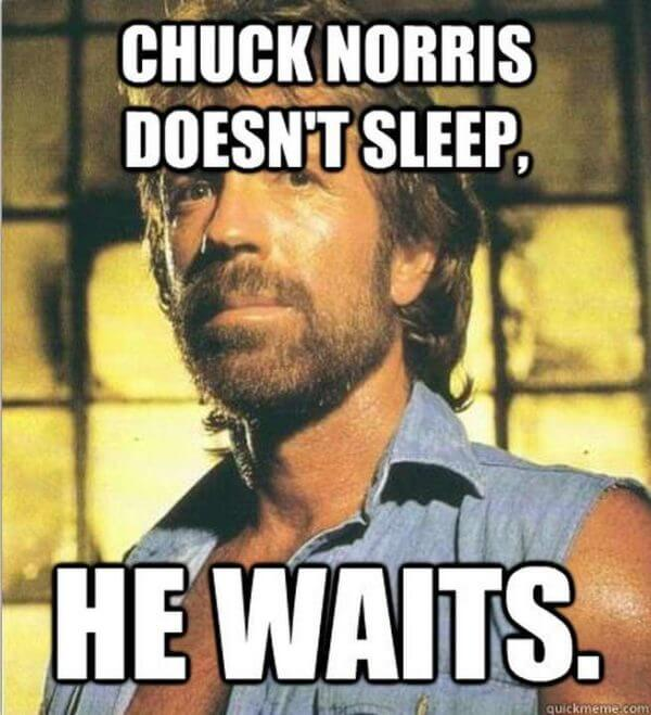 chuck norris funny lines 23