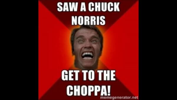 chuck norris funny lines 24